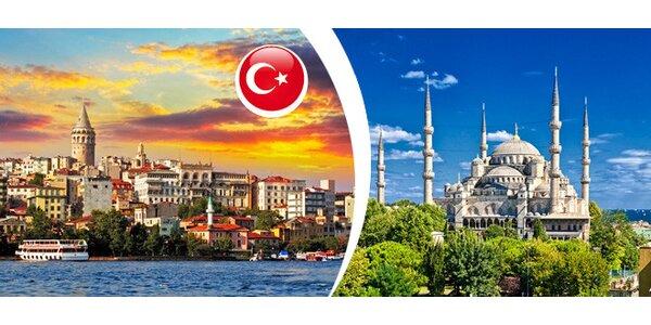 Eurovíkend do Istanbulu v termínu 17. - 20.10.