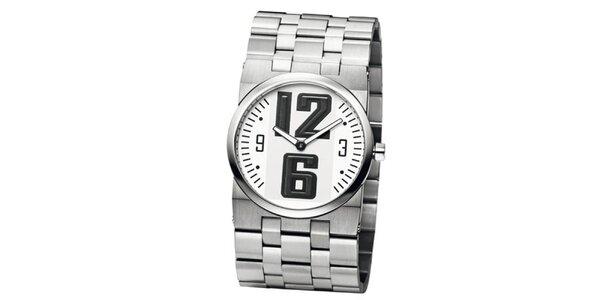 Pánské stříbrné hodinky z ušlechtilé nerez oceli Bruno Banani