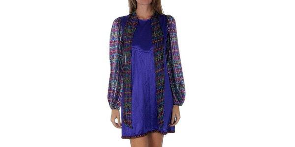 Dámské fialové šaty Custo Barcelona