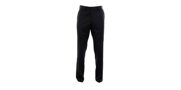 Pánské černé oblekové kalhoty Pietro Filipi