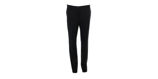 Dámské dlouhé černé kalhoty Pietro Filipi