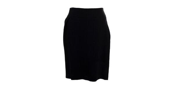 Dámská černá vlněná sukně Pietro Filipi