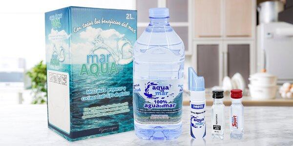 Pro zdraví, pokožku i na vaření: mořská voda
