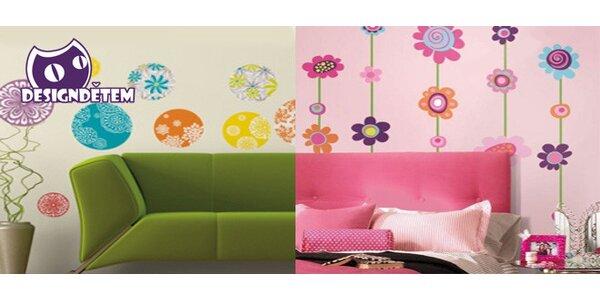 Krásné designové samolepky na zeď