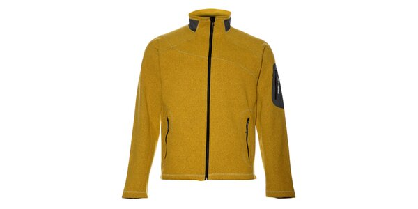 Pánský žlutý sportovní svetr Trimm