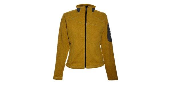 Dámský žlutý sportovní svetr Trimm