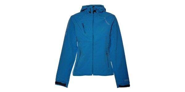 Dámská světle modrá softshellová bunda Trimm