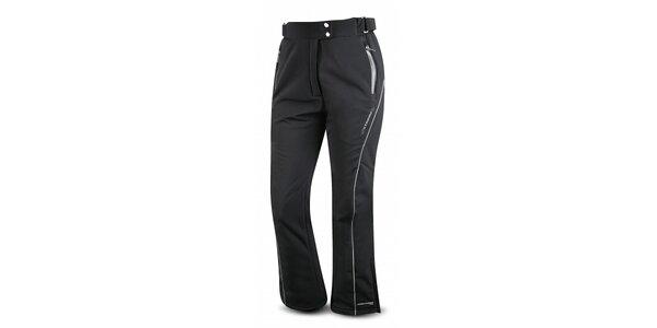 Dámské černé softshellové lyžařské kalhoty Trimm