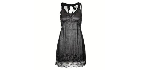 Dámské dvouvrstvé koktejlové šaty Uttam Boutique