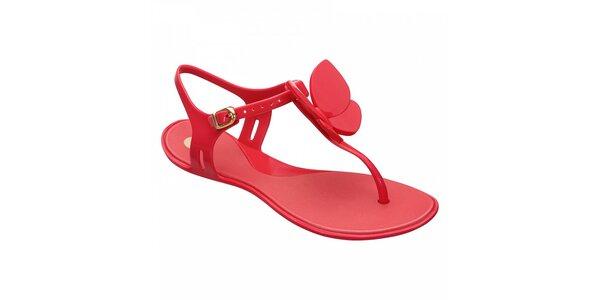 Dámské červené sandály Mel