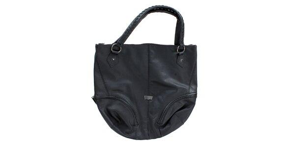 Dámská velká černá oválná kabelka Levis