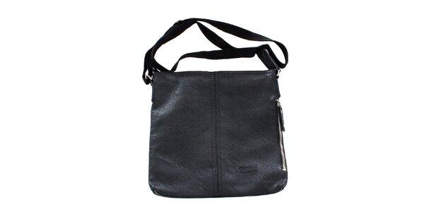 Dámská černá taška přes rameno Levis s látkovým popruhem