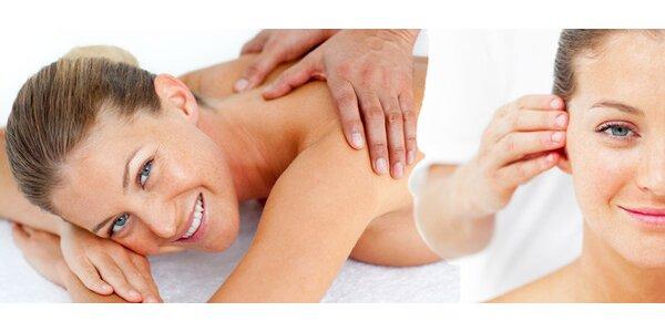 90minutová relaxační masáž