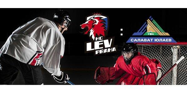 Rodinné vstupné na zápas HC LEV – Salavat Julajev Ufa