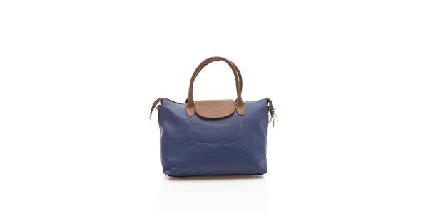 Elegantní dámská kabelka Shambala v modré barvě