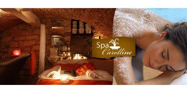 Relaxační lázeňské rituály a masáže ve Spa Carolline