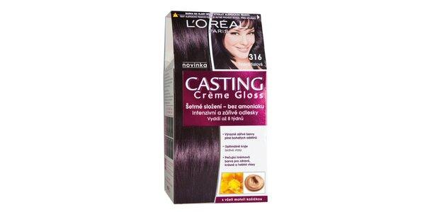 CASTING Créme Gloss 316 tmavá fialová