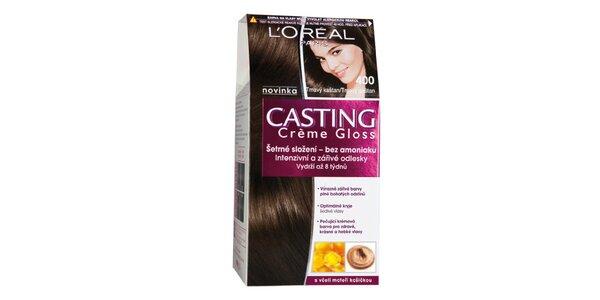 CASTING Créme Gloss 400 tmavý kaštan