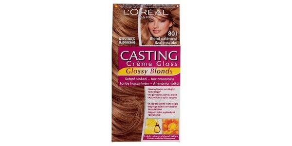 CASTING Créme Gloss BLOND 801 blond saténová