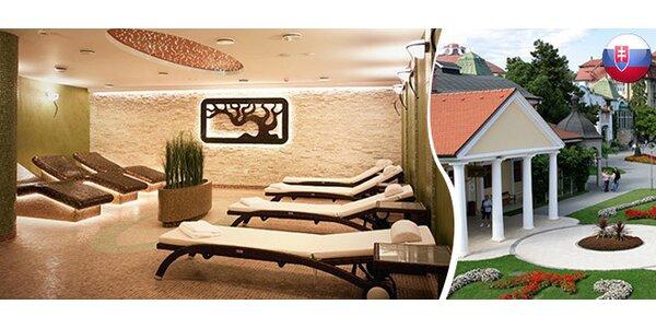 Luxusní pobyt v Piešťanech na 2-3 noci pro dva