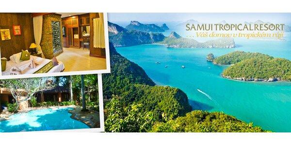 Pobyt v resortu Samui Tropical Resort v Thajsku