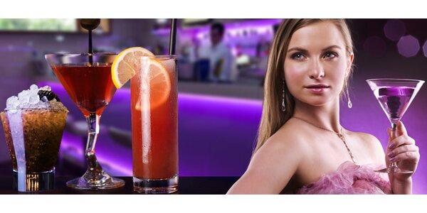 DVA míchané koktejly dle výběru. Sex on the beach i novinky!