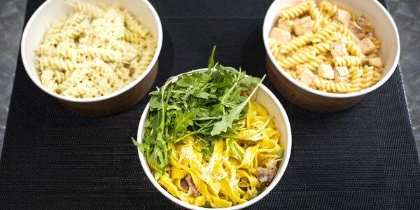 Výběr těstovin a omáček s tiramisu pro 1 nebo 2 osoby