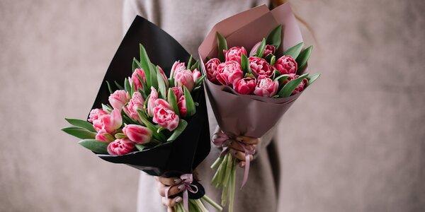 Kytice pro radost: 10–25 tulipánů s přízdobou