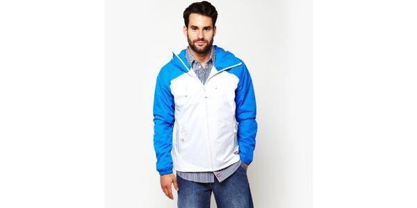 Pánská modro-bílá bunda Dickies