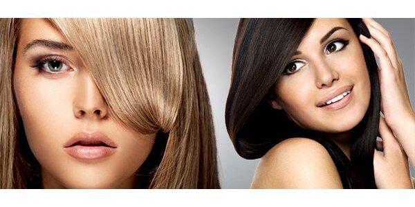 Moderní střih a luxusní vlasová regenerace