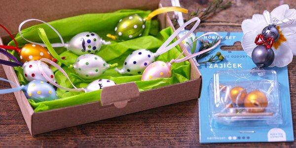 Velikonoční perlové ozdoby české ruční rodinné výroby