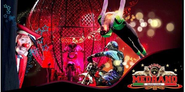 Show italského cirkusu Medrano v sobotu 19.10.2013