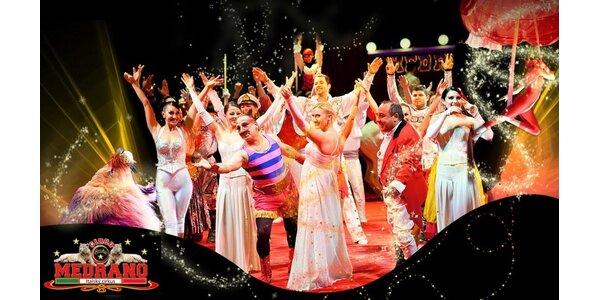 Show italského cirkusu Medrano v neděli 20.10.2013
