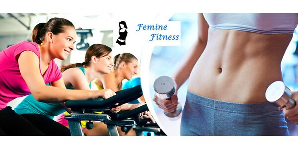 Jednorázový vstup pro dvě do fitness pro ženy