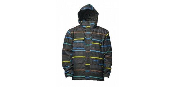 Pánská černá zimní bunda s membránou Fundango