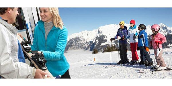 Zapůjčení lyží pro dospělé i děti