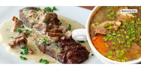 50% sleva na českou kuchyni v restauraci Sparta