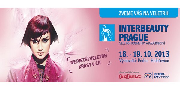 Vstup na veletrh krásy Interbeauty Prague