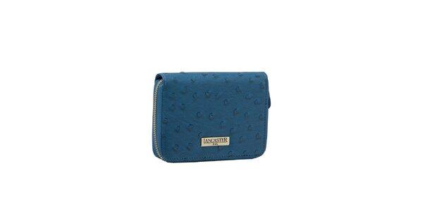 Dámská modrá peněženka Lancaster