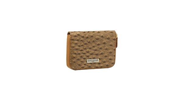 Dámská béžová peněženka Lancaster