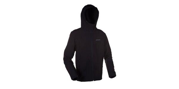 Pánská černo-šedá softshellová bunda Envy