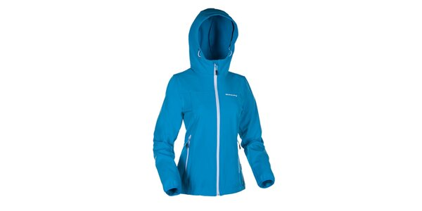 Dámská modrá softshellová bunda Envy