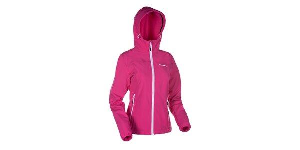 Dámská růžová softshellová bunda Envy