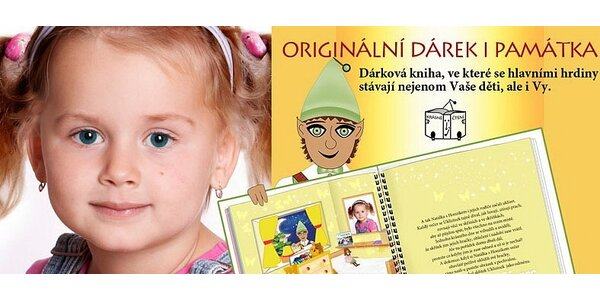 Vaše dítě jako hlavní hrdina pohádkového příběhu