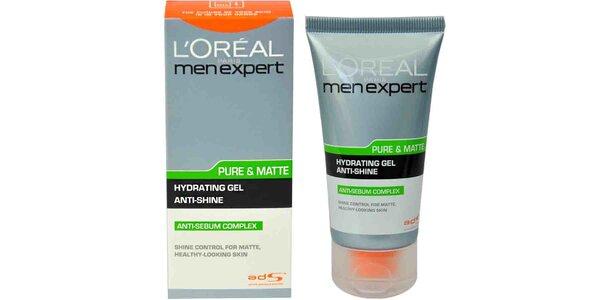 MEN EXPERT PURE&MATE gel pro zmatnění pleti 50ml