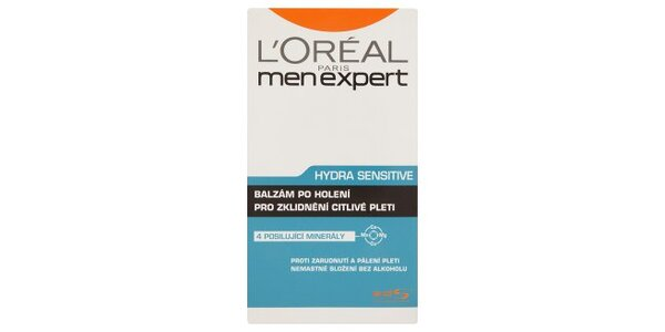 MEN EXPERT HYDRA SENSITIVE balzám po holení 100ml