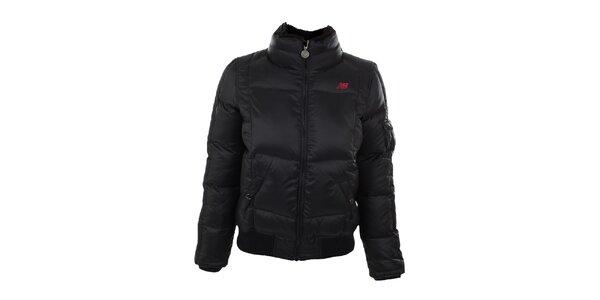 Dámská černá zimní bunda New Balance