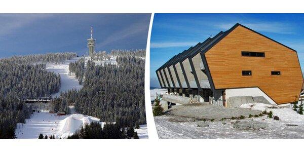 Dovolená pro náročné lyžaře s relaxací ve Skiareálu Klínovec