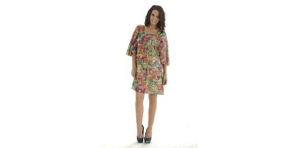 Dámské pestrobarevné šaty Peace&Love