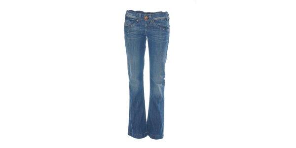 Středně modré džíny Boot Cut